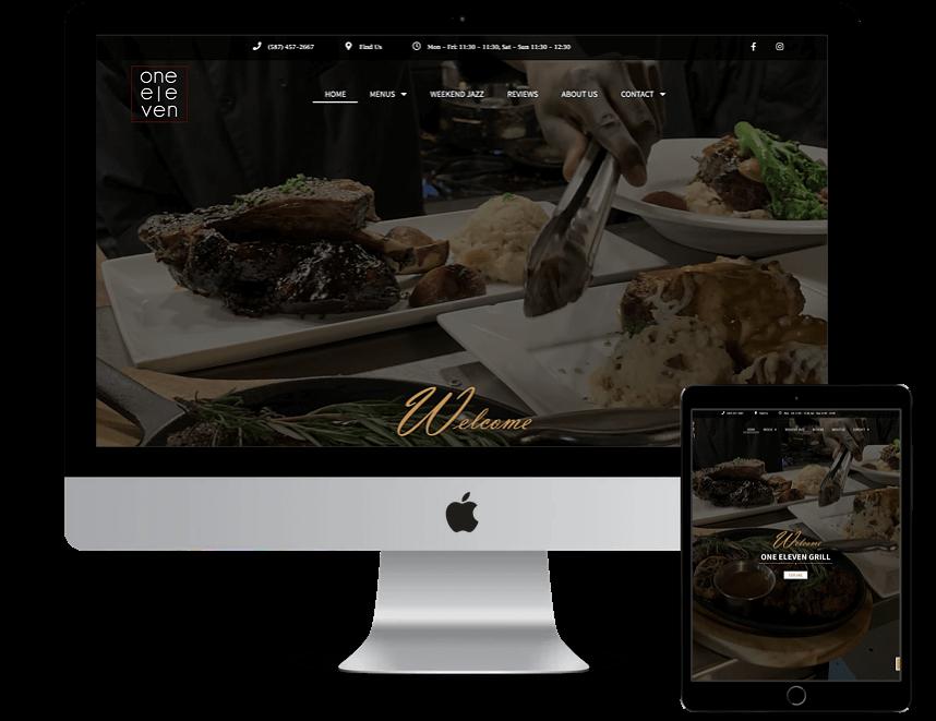 One Eleven Grill portfolio